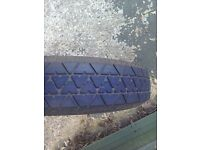 Ford Focus spacesaver spare wheel