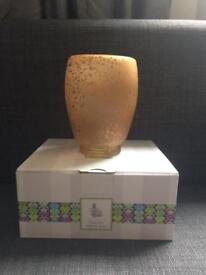 Scentsy cream glass mini warmer £21 RRP £24