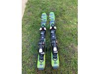 SALOMON Q-MAX JR S + EZY5 80cm Kids Skis