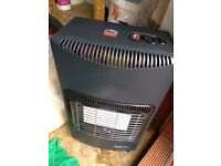 Calor Gas heater with bottle
