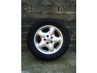 """16"""" Alloy wheel with tyre for sale"""