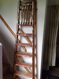 Wooden Ladder - Vintage