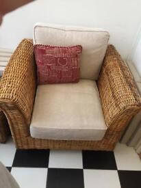 Wicker Armchairs