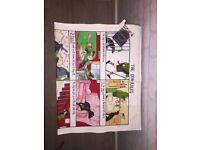Dog Rules Linen Union Tea Towel