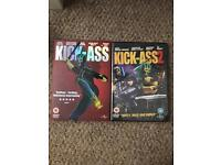 Kick ass 1 and 2 DVDs unopened