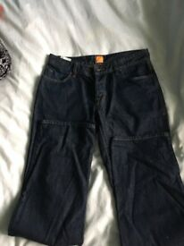 Men's Hugo boss orange jeans worn once !!!!!