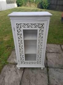 Vintage Whitewash Cabinet