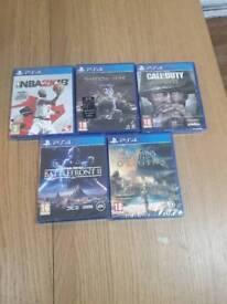 Ps4 games bundle!