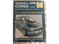 Cords diesel Haynes manual