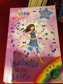 Rainbow Magic Isabella the Air Fairy Book