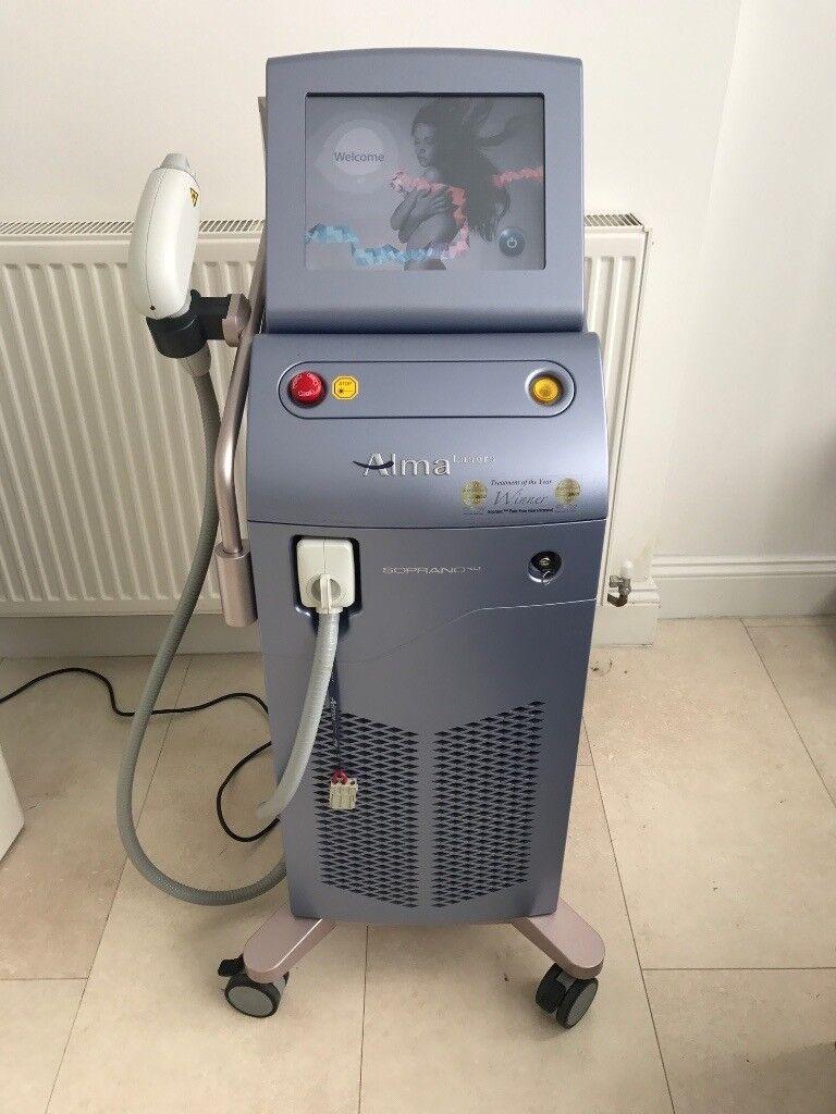 Alma Soprano Xli Diode Laser with ICE upgrade!