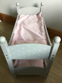 Dolls bunk bed used 3months