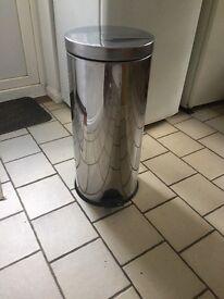 Brabantia stainless steel tall bin