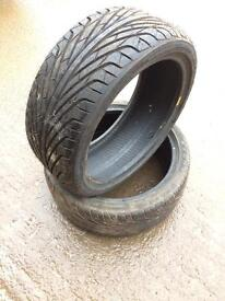 205/40 r17 tyres (1 brand new)