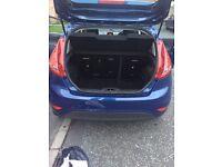 Ford Fiesta, dark blue, amazing condition, MP3, alarm, CD player, electric windows, heating