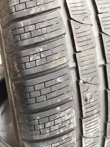 2 x 275/35/20 Pirelli hiver 6/32