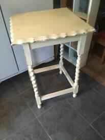 VINTAGE BARLEY TWIST HALL/CONSOLE TABLE - CAN DELIVER