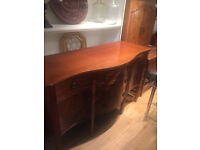 Sideboard , must be seen . Lovely shape and quality. Free local delivery.