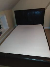 DOUBLE MATTRESS MEMORY FOAM USED IN GOOD CONDITION COLLECTION ONLY