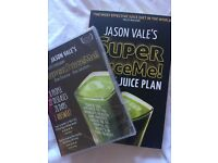 Jason Vale Super Juice Me book and DVD