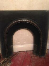 Victorian Cast Fireplace