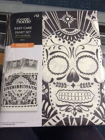 'Book of Life'-esque single duvet and pillow set NEVER OPENED