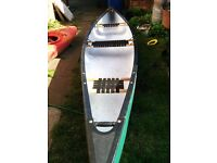 16ft riber canoe. Used twice. Good condition. Collection or delivery up to 10miles