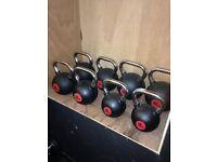 24kg - 40kg rubber coated Kettlebells - weights gyms 160kg