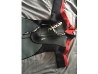 Boys Animal shorty wetsuit
