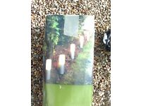 NEW - GARDEN PATH LIGHTS x 6 - STILL BOXED - WITH TRANSFORMER -