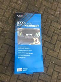 Summit dog guard mesh headrest