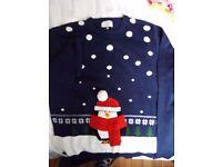 Unisex George Penguin Christmas Jumper