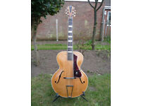 Vintage 1930's Coletti Acoustic Archtop Guitar.