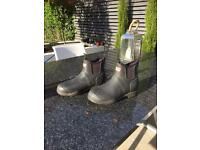 Hunter ankle Wellington boots size 4
