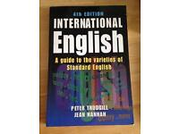 International English: A guide to the varieties of Standard English by Peter Trudgill. 4th E. UNED