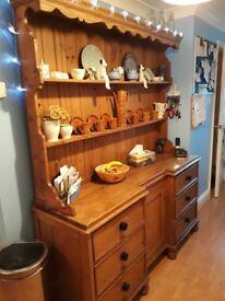 Antique Pine Welch Dresser
