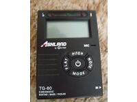 ASHLAND By Crafter - Tuner - Model TG-80 - Chromatic Guitar/Bass/Violin - £10 only