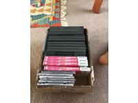 DVD rewritable x4, 12 DVD cases, 6 CD cases