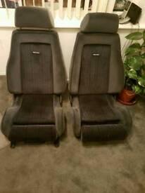 Ford Rs recaro bucket seats