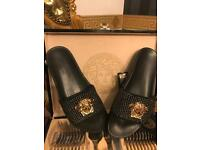 Versace men's sliders sale now on great for holidays