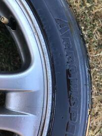 """17"""" Alloy Wheels from Subaru Impreza wrx"""