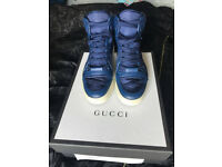 GUCCI High-Top Sneakers Guccissima