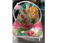 Fisher Price infant to toddler vibrating chair.