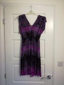 Bright flowy dress, size 6-12