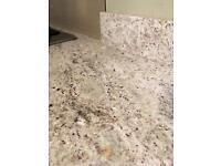 Kashmir White granite - 3cm thick