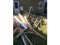 Free studwork timber
