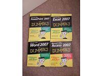 Microsoft 2007 Guide books