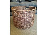 Large wicker basket. Storage, toy box