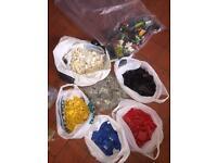 Vintage Lego space basic sorted colours 5kg
