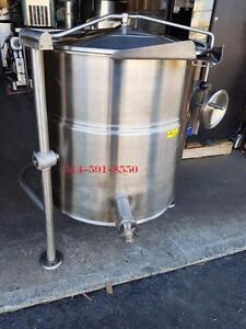 Cleveland 40 Gallon Electric Tilting Steam Pot Kettle / Marmite a Vapeur